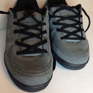 Vision Leather Streetwear  Gray Sneaker